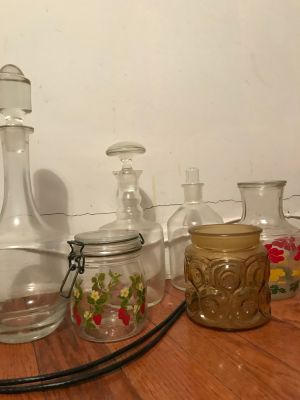 Assorted Glass Decor