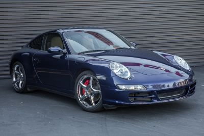 2006 Porsche 911 Turbo (Lapis Blue)