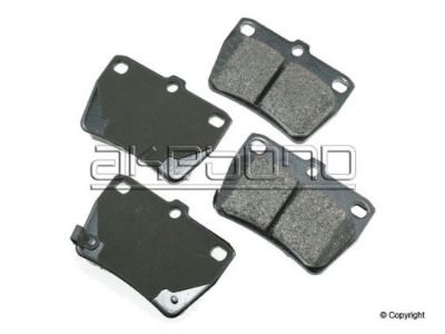 Sell Disc Brake Pad-Akebono ProACT Rear WD EXPRESS fits 04-05 Toyota RAV4 motorcycle in Los Angeles, California, United States, for US $58.52