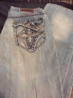 Girls indigo star size 10 jeans in great condition