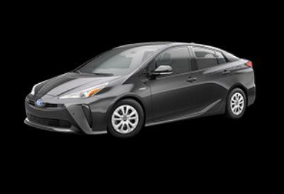 2019 Toyota Prius LE (Magnetic Gray Metallic)