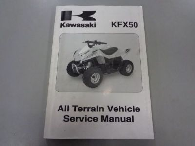 Purchase OEM KAWASAKI SERVICE MANUAL REPAIR WORK BOOK YOUTH QUAD 2007 KSF50 99924-1370-01 motorcycle in Columbia, Connecticut, United States, for US $17.99