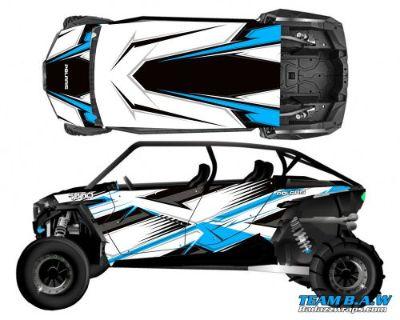 Purchase Polaris 4 RZR 1000 xp Design MXVEC 019 Decal Graphic Kit Wraps UTV Turbo Scoop motorcycle in Ogden, Utah, United States, for US $449.99