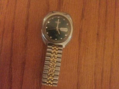 Rare SEIKO DX 17 Jewels Stainless Steel Watch