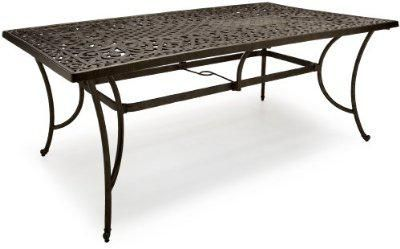 Furniture Sale Including this All-Weather Rectangular Table