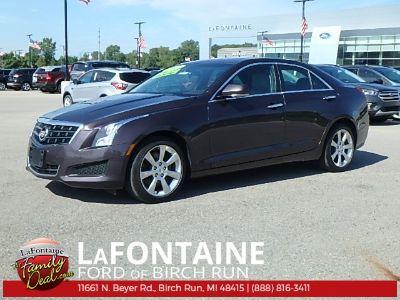 2014 Cadillac ATS 2.0T Luxury (Majestic Plum Metallic)