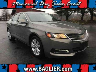 2018 Chevrolet Impala LT Cloth/Leather Trimmed Seats Rear Camera 18 inch Painted
