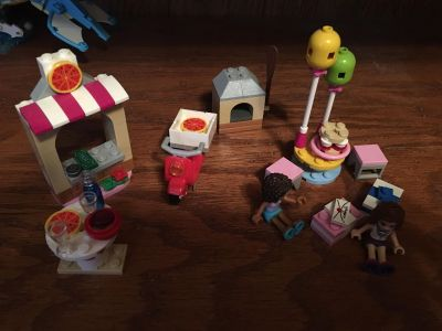 Lego Friends Birthday and Pizza Parlor