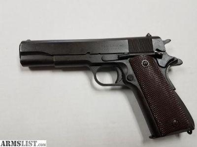For Sale: ITHACA GUN COMPANY PISTOL M1911