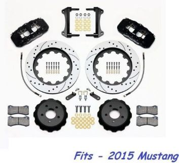 "Sell Wilwood AERO6 Front Big Brake Kit Fits 2015 Ford Mustang,15"" Drilled Rotors motorcycle in Camarillo, California, United States, for US $2,144.00"