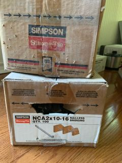 Simpson Strong-Tie NCA2X10-16 Tension Bridging (Pack of 100)