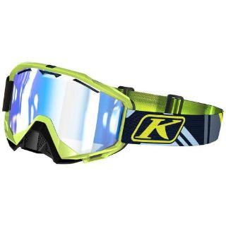Sell Klim Radius Tenacious Smoke Tint Blue Mirror Lens Snowmobile Snow Helmet Goggle motorcycle in Manitowoc, Wisconsin, United States, for US $71.99