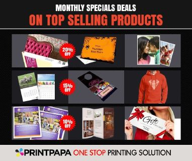 Enjoy Amazing Discount on Premium Quality Printing