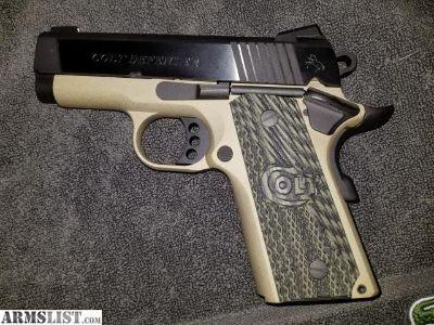 For Sale: Talo Colt Defender (Army Green) 45 ACP