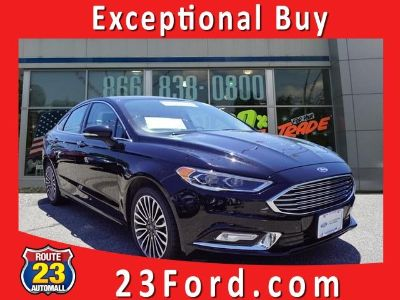 2017 Ford Fusion (Shadow Black)