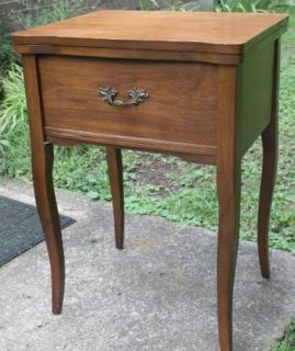 Solid Wood Sewing Machine Cabinet