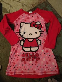 Hello kitty medium night gown - ppu (near old chemstrand & 29) or PU @ the Marcus Pointe Thrift Store (on W st)