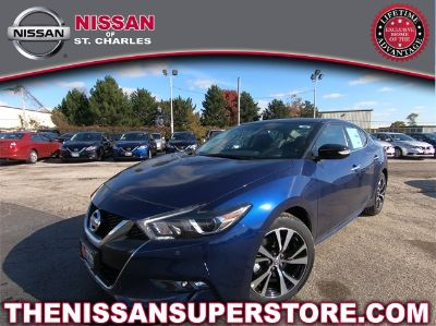 2018 Nissan Maxima 3.5 SV (Deep Blue Pearl)