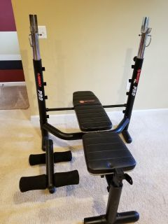 Marcy workout bench