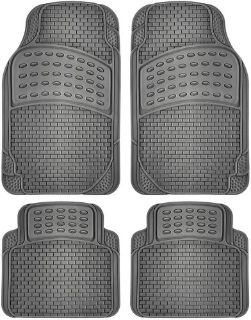 Buy Car Floor Mats for All Weather Rubber 4pc Set Semi Custom Fit Heavy Duty Gray motorcycle in Gardena, California, United States, for US $5.95