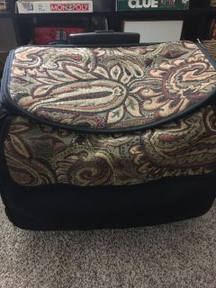Rolling carry all case