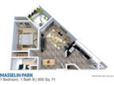 Masselin Park West - Plan 73001 BR One BR One BA