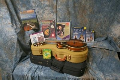 $700 OBO Morgan Monroe MMS-8W Mandolin, case, books, etc