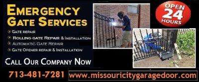 Fastest Automatic Gate Repair Missouri city, TX