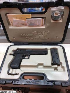 For Sale: Desert Eagle 50 AE mint