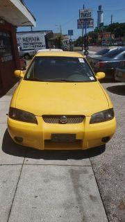 2003 Nissan Sentra SE-R Spec V (Yellow)
