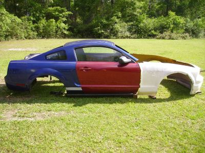 2005 Mustang Body