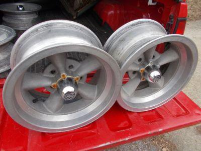 Vintage aluminum wheels 14 x 7