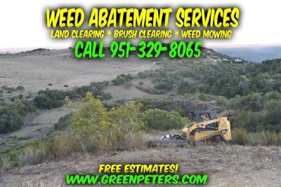 Professional Weed Abatement & Brush Clearing in Murrieta