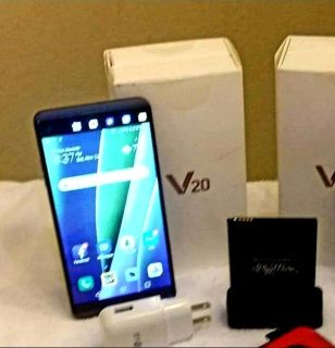 SPRINT LG V20 UNLOCKED PHONE PLUS EXTRA BATTERY W/ CHARGER