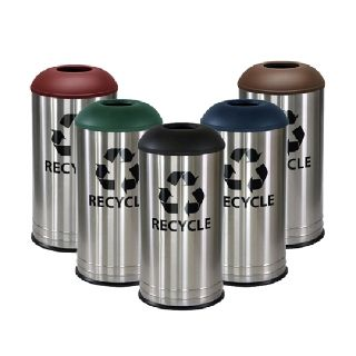 Stainless Steel Waste Bin Recycler
