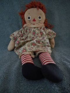 GEORGENE GRUELLE RAGGEDY ANN DOLL ORIGINAL PATENTED 1918-20