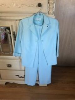 Blue Suit ( pant and blazer) used once