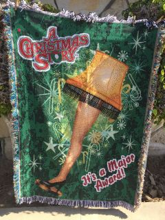 A Christmas Story small lap blanket