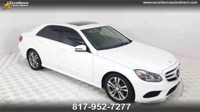 2015 Mercedes-Benz E-Class E350 Luxury (Polar White)