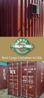 First rate Cargo Container in USA