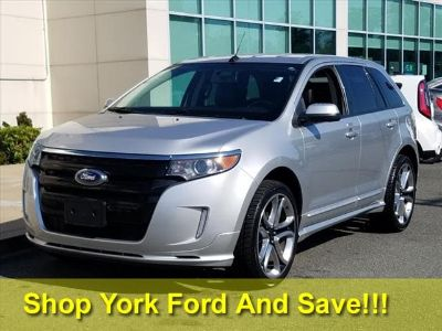 2014 Ford Edge Sport (Ingot Silver Metallic)