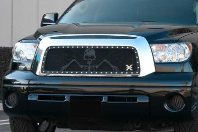 Buy T-Rex 10-13 Toyota Tundra Billet Grille X-Metal Series Polished Mesh Grill motorcycle in Corona, California, US, for US $564.50