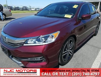 2016 Honda ACCORD SEDAN 4dr I4 CVT Sport (San Marino Red)