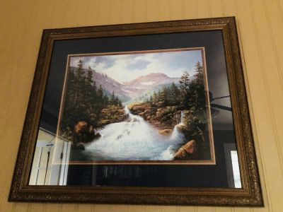 Beautiful Framed Picture