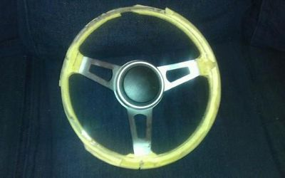 Sell 70 71 72 73 74 75 76 Dodge Plymouth Chrysler Mopar Tuff Black Steering Wheel motorcycle in Chippewa Falls, Wisconsin, US, for US $24.99