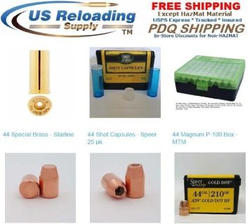44 Special Reloading Supplies with Free Shipping