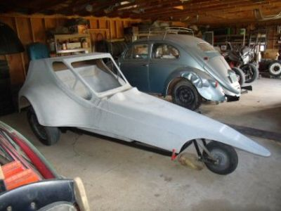 Tri-Vator 3 wheel kit car project based on VW bug