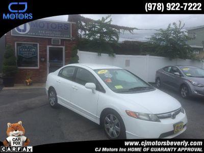2008 Honda Civic LX (Taffeta White)