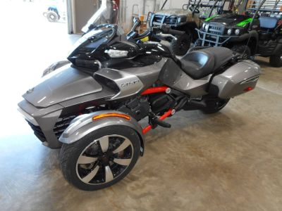2016 Can-Am Spyder F3-T SM6 w/ Audio System 3 Wheel Motorcycle Belvidere, IL