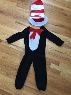 Cat in the Hat costume Size 4